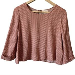 URBAN OUTFITTERS | Pins & Needles 3/4 sleeve top